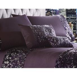 image-Devin Boudoir Cushion with Filling Rosdorf Park Colour: Amethyst, Size: 18 x 32cm