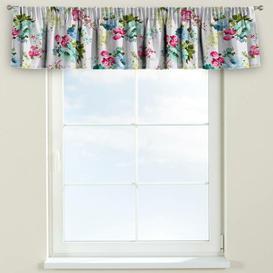 image-Monet Curtain Pelmet Dekoria Size: 260cm W x 40cm L, Colour: Blue/Pink/Green
