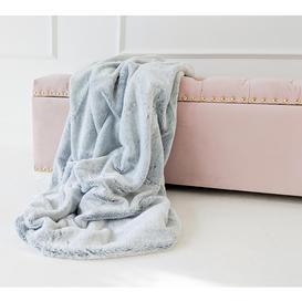 image-Winter Warmer Grey Faux Fur Blanket