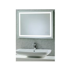 image-Roper Rhodes Beat Illuminated Led Bathroom Mirror with Integrated Stereo