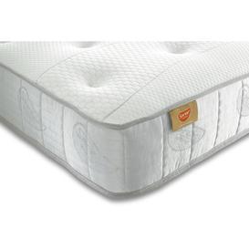 image-Tufted Memory Pocket Sprung 1500 Mattress Wayfair Sleep Size: Small Single (2'6)