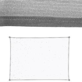 image-Onna 3m x 4m Rectangle Shade Sail Sol 72 Outdoor Colour: Grey