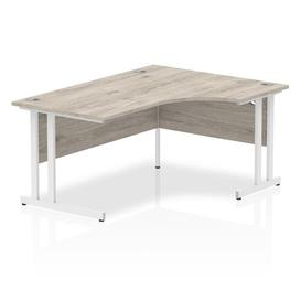 image-Zetta L-Shaped Executive Desk Ebern Designs Size: 73 x 160 x 80, Orientation: Right Orientation
