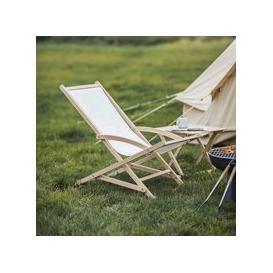 image-Garden Trading Wimborne Rocking Deck Chair - Beech