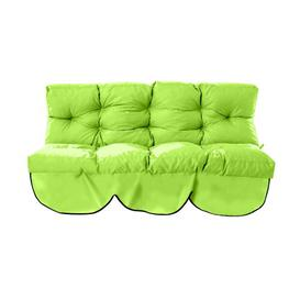 image-Tufted 2 Seater Garden Sofa Cushion Sol 72 Outdoor Colour: Lime