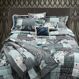 image-Roberto Cavalli - Faraqa Bed Set - Aqua - King