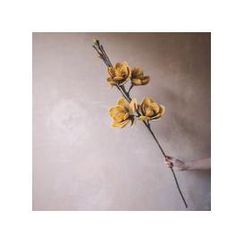 image-Faux Yellow Allia Flower