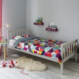 image-Dorset Single Bed in Classic Grey