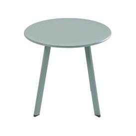 image-Round Green Metal Garden Coffee Table Monopoli