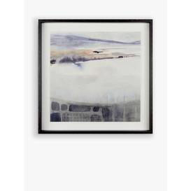 image-Victoria Borges - Watercolour Moor Framed Print, 62 x 62cm, White/Multi