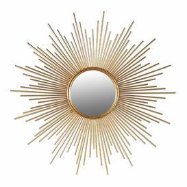 image-Sunburst Gold Mirror