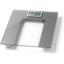 image-WW Ultra Slim Designer Precision Elec Bathroom Scale -Silver