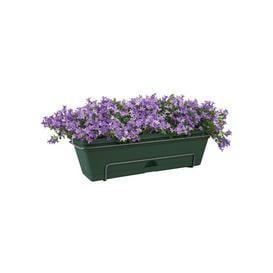image-Plastic Balcony Planter ELHO Colour: Leaf Green, Size: 16.7cm H x 47.3cm W x 25.7cm D