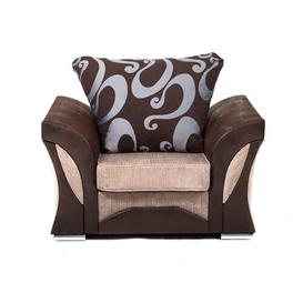 image-Drees Armchair Ebern Designs Upholstery Colour: Brown