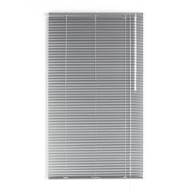 image-Veneciana Semi-Sheer Venetian Blind Brayden Studio Finish: Silver, Size: 180 cm L x 80 cm W