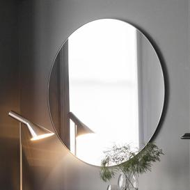 image-Designer Round Mirror in Black