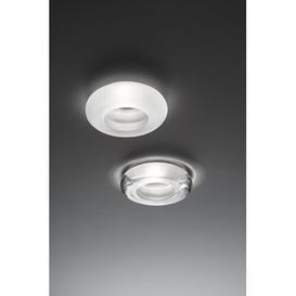 image-Faretti Round Recessed Lighting Kit Fabbian Finish: White, Bulb: GU10