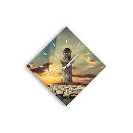 image-Daryl Silent Wall Clock Longshore Tides Size: 42cm H x 42cm W x 0.4cm D