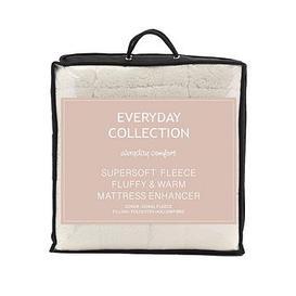 image-Everyday Collection Super Soft Teddy Fleece Deep 5Cm Mattress Topper