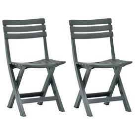 image-Isaacs Folding Garden Chair House of Hampton Finish: Green