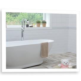 image-Aquarius LED Illuminated Bathroom Mirror Size-60HX80WX5.5Dcm (Reversible) YJ2538H