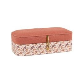 image-Red Jewellery Box with Print