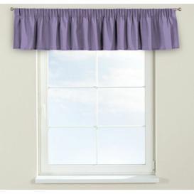 image-Jupiter Curtain Pelmet Dekoria Size: 130cm W x 40cm L, Colour: Bright purple