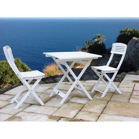 image-Kershner 2 Seater Bistro Set Sol 72 Outdoor Colour: White
