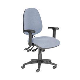 image-Rutland Ergonomic Desk Chair Brayden Studio Upholstery Colour: Blue