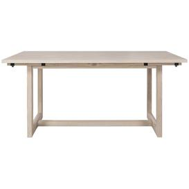 image-Crouch Extendable Dining Table Natur Pur