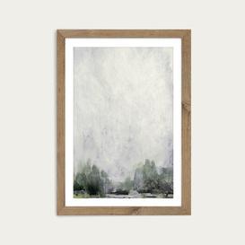 image-Forest Edge Art Print Oak Frame