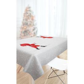 image-Christmas Tablecloth Saint Clair Paris Size: 145cm W x 180cm L