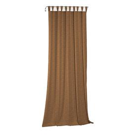 image-Beloit Tab Top Room Darkening Curtain ClassicLiving Size: 270cm H x 225cm W, Colour: Fawn brown