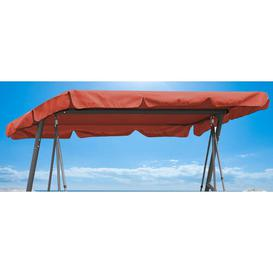image-Porch Swing Seat Canopy Quick-Star Canopy Colour: Orange