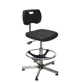image-Meadors Draughtsman Chair Ebern Designs Colour: Black
