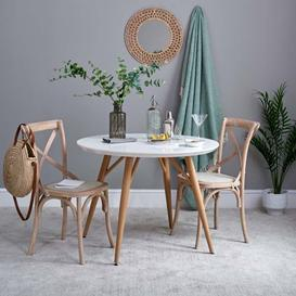 image-Contempo Round Dining Table