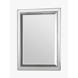 image-Madrid Rectangular Bevelled Glass Wall Mirror, 109.5 x 79.5cm, Clear