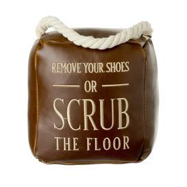 image-Scrub The Floor Door Stop By Heaven Sends