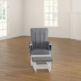 image-Deluxe Glider Nursing Chair and Footrest Obaby
