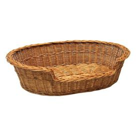 image-Chapple Dog Bed Basket in Brown Archie & Oscar Size: Large