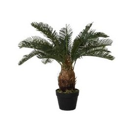 image-Faux Cycad in Slate Effect Planter