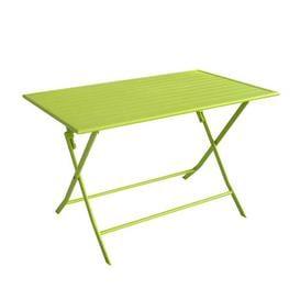 image-Stines Folding Aluminum Bistro Table
