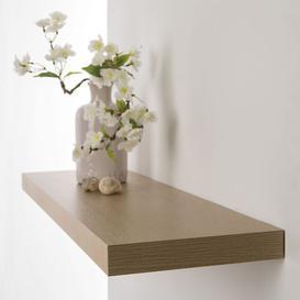 image-Abe Wall Shelf Natur Pur Size: 3.87cm H x 80cm W x 23.5 D