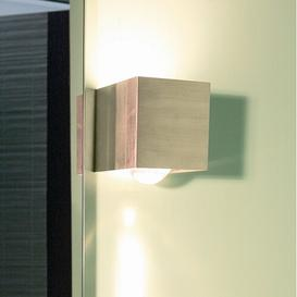 image-Monaghan 1 Light Wall Light Sol 72 Outdoor Finish: Glass / Glass