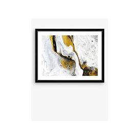 image-Marble 2 - Framed Print & Mount, 66 x 86cm, White