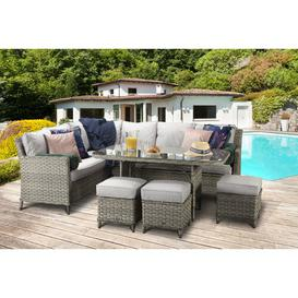 image-Pat Garden Corner Sofa with Cushions Sol 72 Outdoor