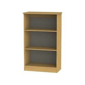image-Welcome Living Room Furniture Modern Oak Bookcase - 2 Shelves