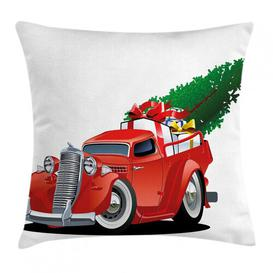 image-Lexi-Mai Outdoor Cushion Cover Ebern Designs Size: 50cm H x 50cm W x 0.5cm D
