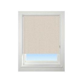 image-Universal 180cm Neutral Knitted Texture Blackout Roller Blind