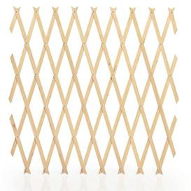 image-Value Garden Trellis Plant Support Natural Wood 6 x 4 Foot